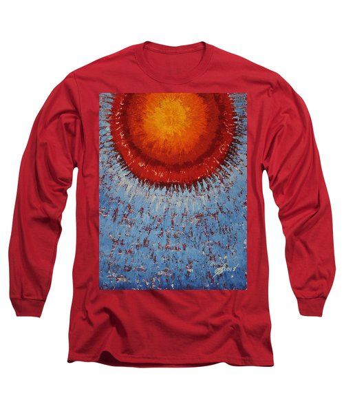 Outburst Original Painting Long Sleeve T-Shirt