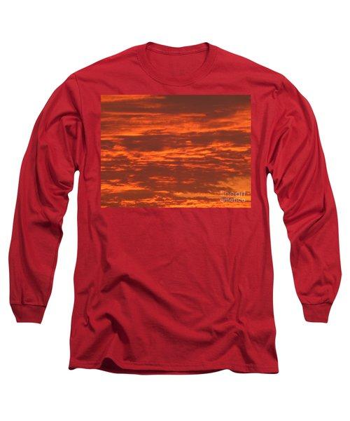 Outrageous Orange Sunrise Long Sleeve T-Shirt