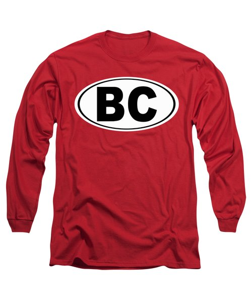 Long Sleeve T-Shirt featuring the photograph Oval Bc Boulder City Colorado Home Pride by Keith Webber Jr