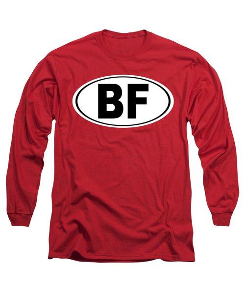 Oval Bf Beaver Falls Pennsylvania Home Pride Long Sleeve T-Shirt by Keith Webber Jr