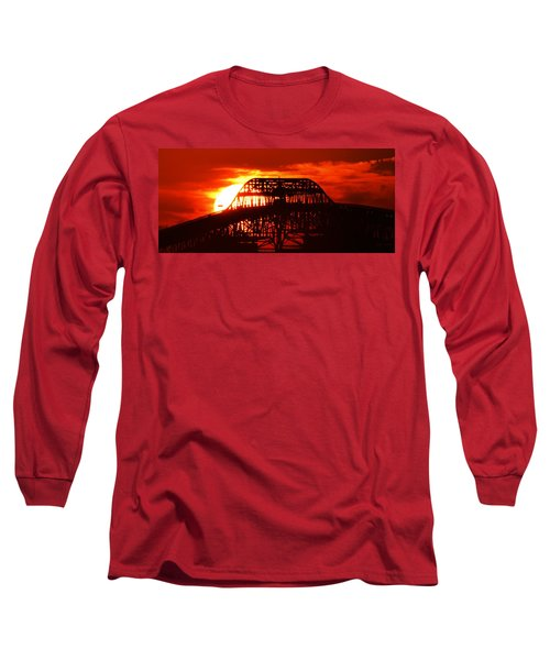 Over The Hump Long Sleeve T-Shirt by John Glass