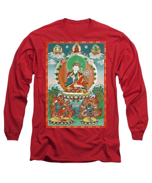 Padmasambhava Long Sleeve T-Shirt by Sergey Noskov