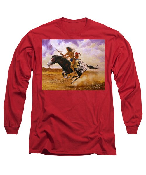 Painted Arrow Long Sleeve T-Shirt