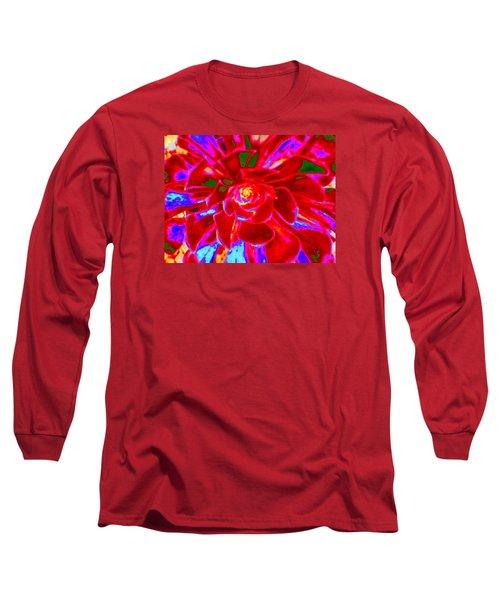 Carnival Colors Long Sleeve T-Shirt by Vivien Rhyan