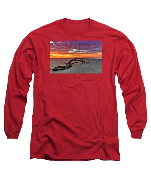Painted Sky - Sullivan's Island Sc Long Sleeve T-Shirt