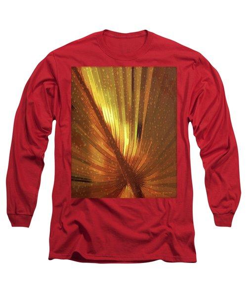 Palmetto Embrace-golden Long Sleeve T-Shirt