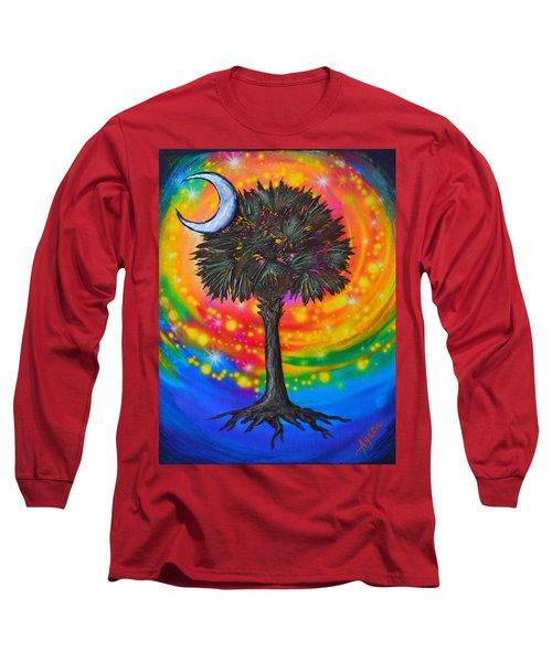 Palmetto Tree Of Life Long Sleeve T-Shirt