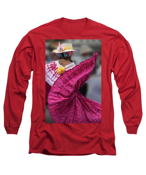 Panamanian Dancer 2 Long Sleeve T-Shirt