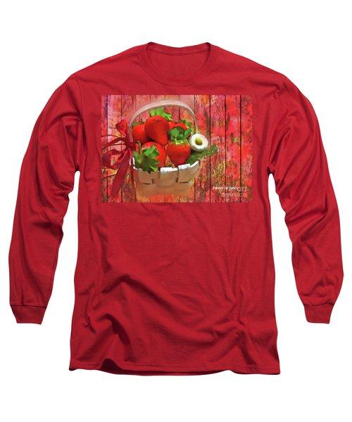 Panier De Baies 2017 Long Sleeve T-Shirt