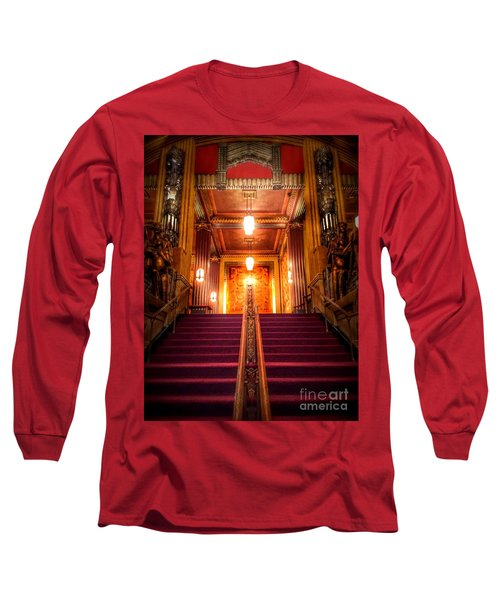 Pantages Theater's Grand Staircase Long Sleeve T-Shirt