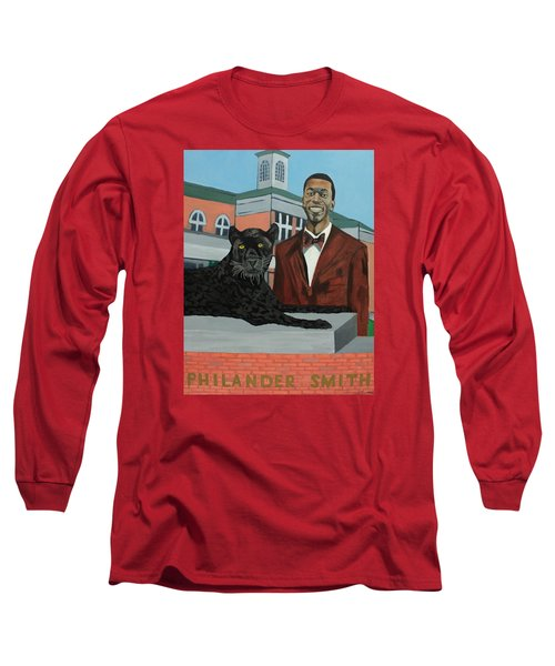 Panther Pride Long Sleeve T-Shirt by Angelo Thomas