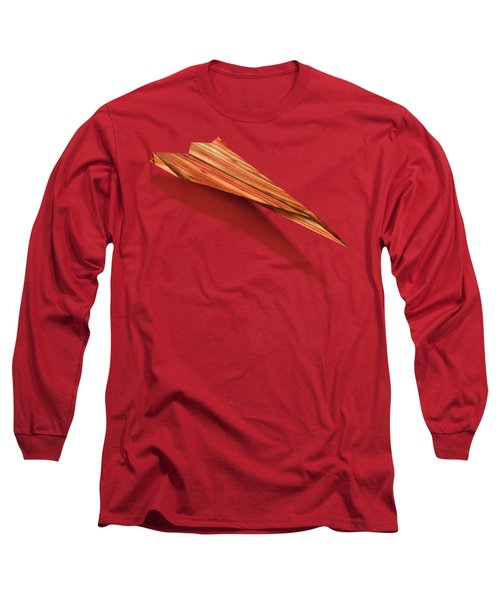 Paper Airplanes Of Wood 4 Long Sleeve T-Shirt