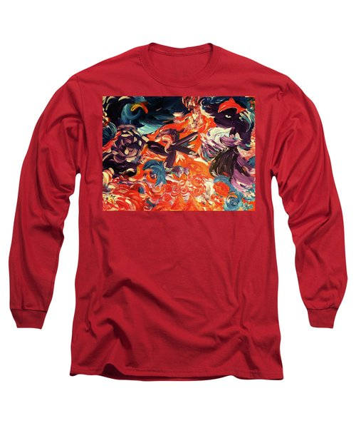 Party In A Parallel Reality Long Sleeve T-Shirt