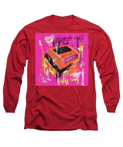 Party Time  Long Sleeve T-Shirt by Sladjana Lazarevic