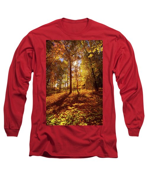 Long Sleeve T-Shirt featuring the photograph Passing Time by Phil Koch