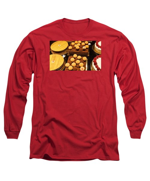 Pastry And Cakes In Lyon Long Sleeve T-Shirt