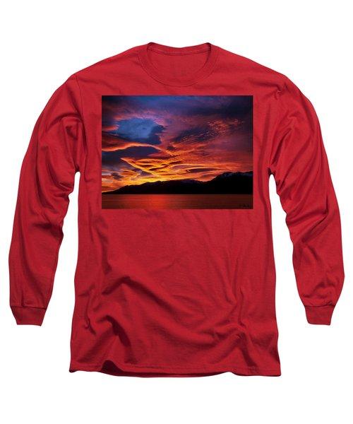 Patagonian Sunrise Long Sleeve T-Shirt