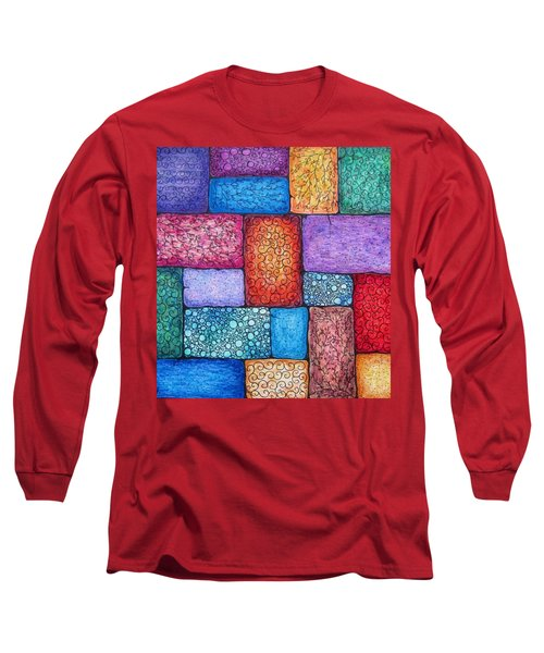 Patchwork Long Sleeve T-Shirt by Megan Walsh