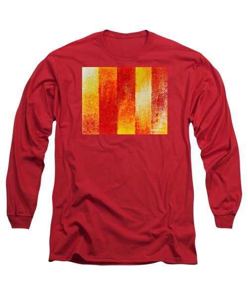 Long Sleeve T-Shirt featuring the painting Path by Teresa Wegrzyn