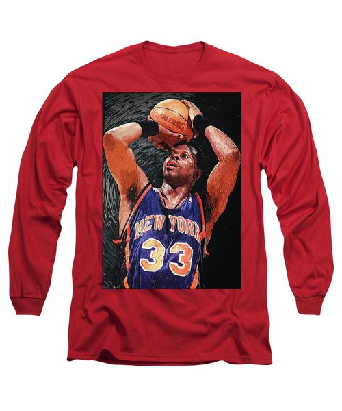 Patrick Ewing Long Sleeve T-Shirt