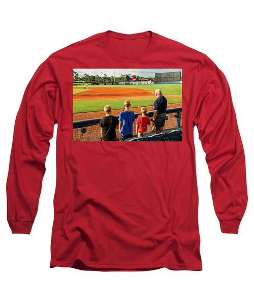 Patriotism Is Taught Long Sleeve T-Shirt