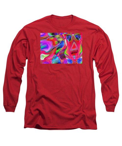 Pattern 246 _ Wow  Long Sleeve T-Shirt
