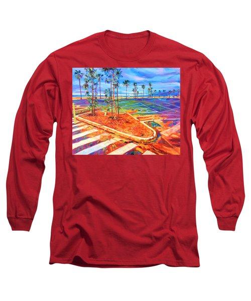 Paved Paradise Long Sleeve T-Shirt by Bonnie Lambert