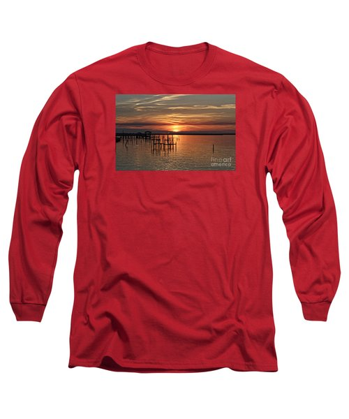 Peace Be With You Sunset Long Sleeve T-Shirt