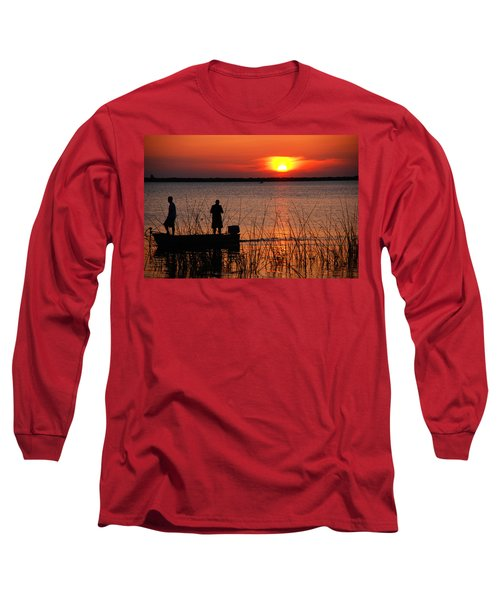 Peace Over The Water Long Sleeve T-Shirt