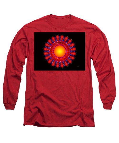 Long Sleeve T-Shirt featuring the digital art Peace by Robert Orinski