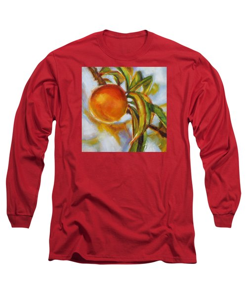 Peach Long Sleeve T-Shirt by Tracy Male