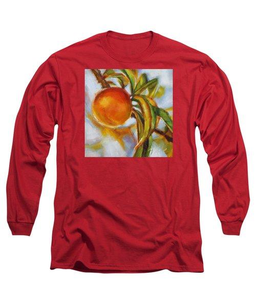 Peach Long Sleeve T-Shirt