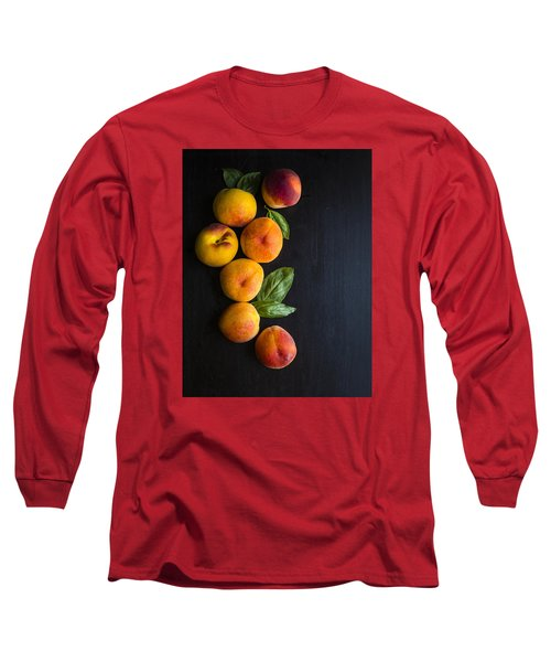 Peaches And  Basil Long Sleeve T-Shirt