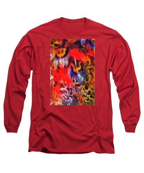 Peacock No. 2 Long Sleeve T-Shirt