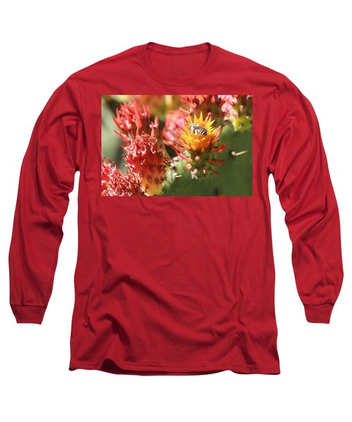Pear Bee Long Sleeve T-Shirt