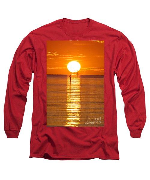 Pelican Sunset Long Sleeve T-Shirt