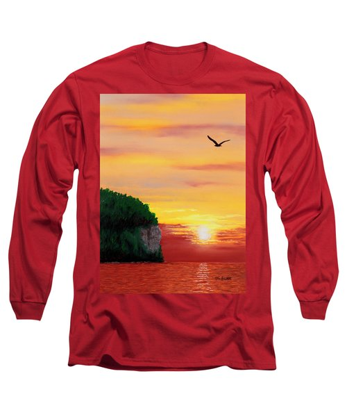 Peninsula Park Sunset Long Sleeve T-Shirt