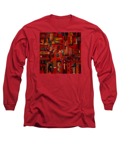 Long Sleeve T-Shirt featuring the painting Penman Original-233 by Andrew Penman