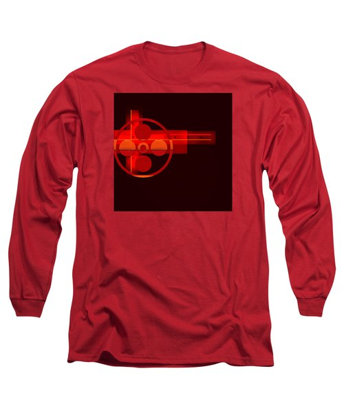 Long Sleeve T-Shirt featuring the painting Penman Original- 270 by Andrew Penman