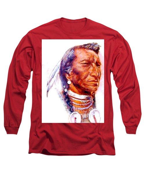 Pensive Long Sleeve T-Shirt