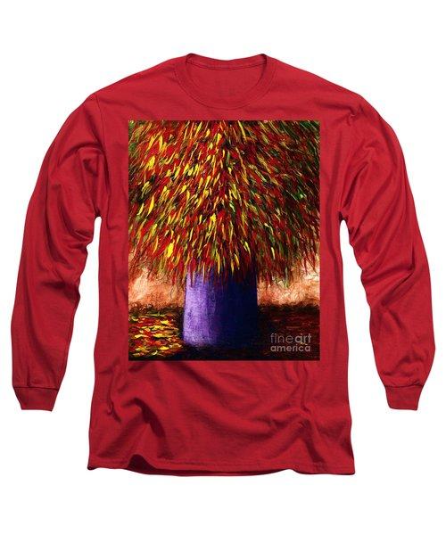 Peppered  Long Sleeve T-Shirt