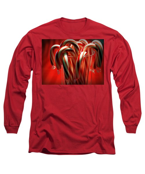 Peppermint Jumble Long Sleeve T-Shirt