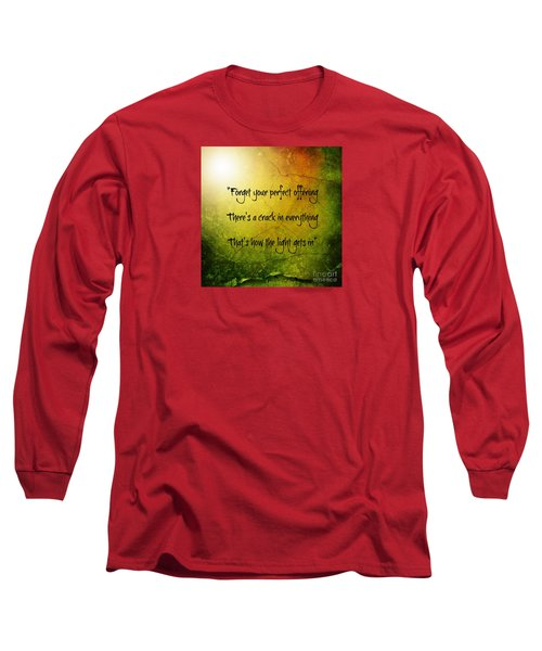 Perfect Offerings Long Sleeve T-Shirt