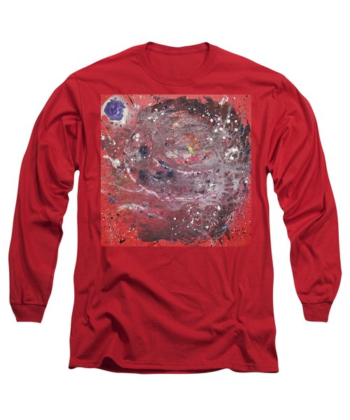 Long Sleeve T-Shirt featuring the painting Perfect Storm by Michael Lucarelli