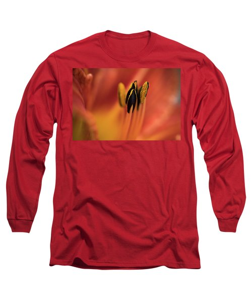 Persimmon Lilly Long Sleeve T-Shirt by Deborah Scannell