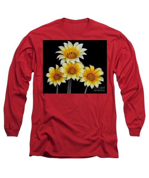Peruvian Daisies Long Sleeve T-Shirt