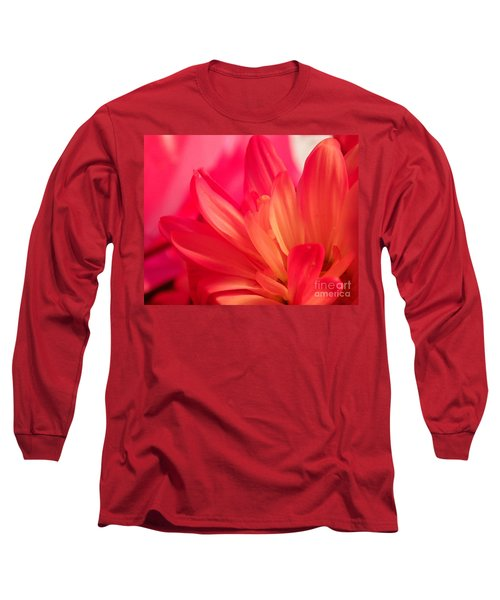 Petal Abstract Long Sleeve T-Shirt