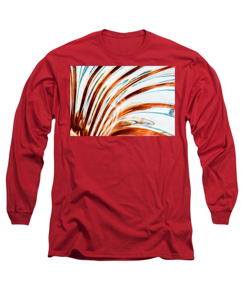 Long Sleeve T-Shirt featuring the photograph Petals Of Glass by Wendy Wilton