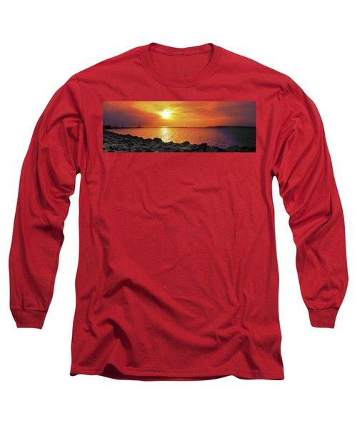 Petoskey Sunset Long Sleeve T-Shirt