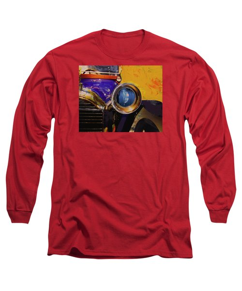 Long Sleeve T-Shirt featuring the photograph Peugeot Cabriolet 1913 by Walter Fahmy